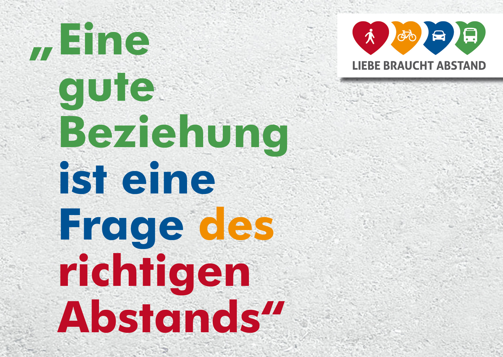 abstand in beziehung
